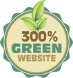 This site is 300% Green. Click to get your site green as well!